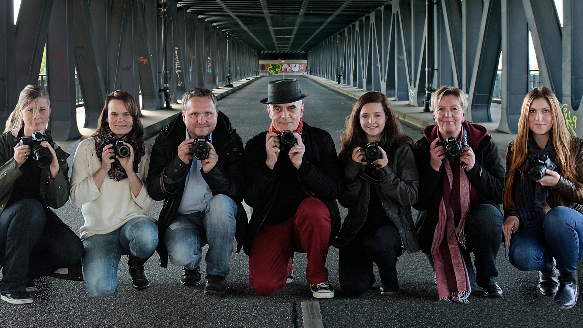 Faceland Fotoworkshop Teilnehmer